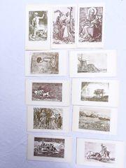 11 Bildkarten Werke alter Meister
