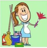 Erfahrene Raumpflegerin