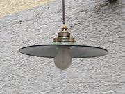 Originale Fabriklampe Werkstattlampe Emailschirmlampe Industrielampe -