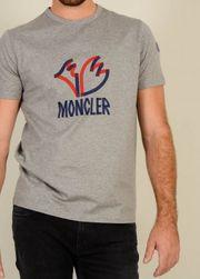 MONCLER T-Shirt mit Schriftzug in