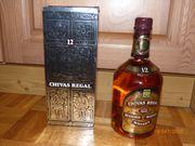 1 Flasche Whiskey Chivas Regal