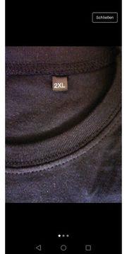 Basic T Shirt 2XL schwarz