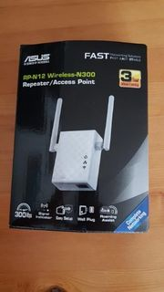 Asus RP-N12Wireless-N300 Repeater Acces