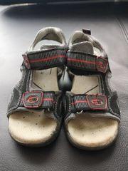 Sandale Mega Gaga schwarz grau