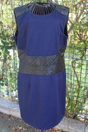 blau-schwarzes Kleid v Cortefiel Größe