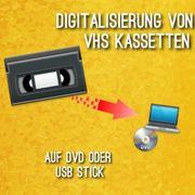VHS Videokassetten digotalisieren lassen