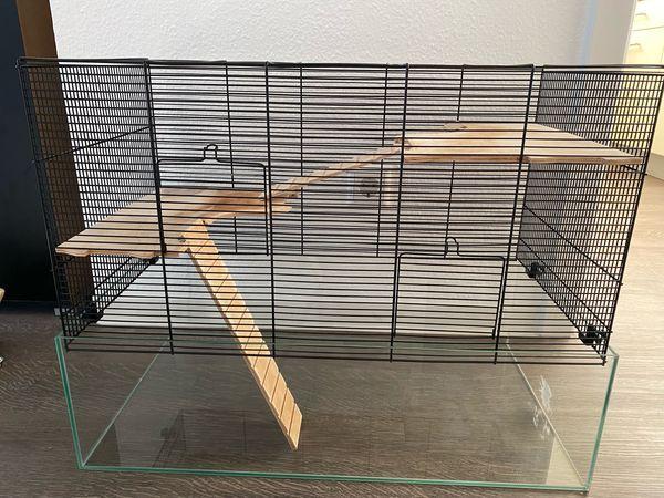 Mäuse- Hamsterheim - Kleintierkäfig MINNESOTA