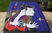 Vorhangsbild mit Japanischem Samurai