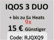 Iqos 15 Euro Gutscheincode RJQXQ9