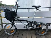 BROMPTON M6RD Folding Bike BLACK