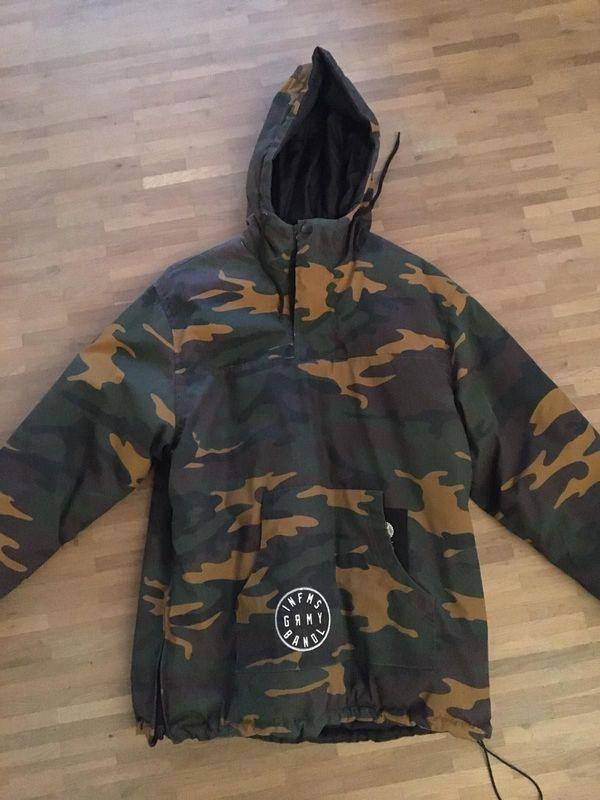 GRIMEY Wear Wendejacke Herren Camouflage