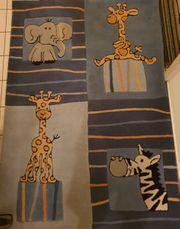 Kinderteppich mit Tiermotiven ca 170