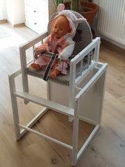 hochstuhl zweiteilig Tisch und Stuhl