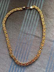 Halskette in Gold Silberoptik