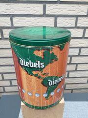Alte DIEBELS Blechdose WELTZEIT - 23