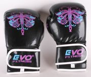 Evo Fitness Boxhandschuhe Schwarz Größe