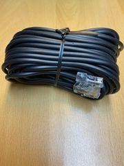 9 x ISDN-Kabel Anschluss auf