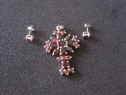 Schönes Kreuz 925 Silber mit