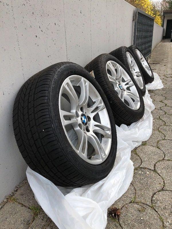 4x BMW M Alufelgen Sommerreifen