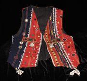 Damenweste indischer Gypsy-Stil UNIKAT