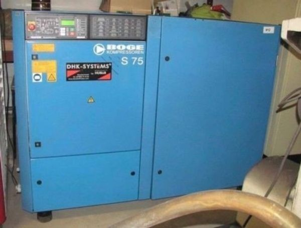 Kompressor Boge S 75 Supertronic