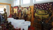 Buddhafiguren aus Thailand Burma Tibet