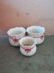 Keramiktöpfe 3 Stück