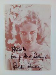 Bette Davis 10 5x15 handsigniert