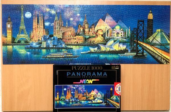 EDUCA Puzzle 11995 Denkmäler dieser