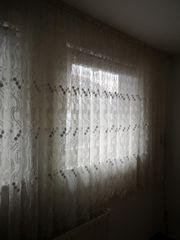 Gardinen mit Gardinenstange wohnzimmer Schlafzimmer