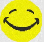Vorlage für Ministeck Smiley15 40x40cm