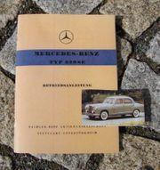 Betriebsanleitung Mercedes 220 SE Ponton
