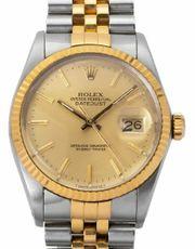 Rolex Datejust 16013 Stahl Uhr