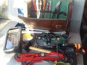 Werkzeugkoffer mit Inhalt