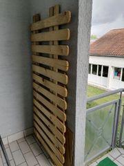 2 Zaunelemente Holz