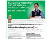 Leiter Housekeeping m w d
