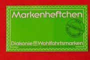 Briefmarken Markenheftchen Wohlfahrtsmarken Diakonie 1986