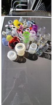 11 Flaschen Babyflaschensammlung z B