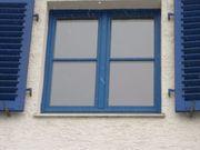 3 Fenster Holzsprossenfenster geteilt mit