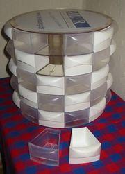 Kleinteilemagazin Sortierbox rund 60 Fächer