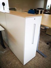 Apothekerschrank Öffnung rechts Stauraum Büroschrank