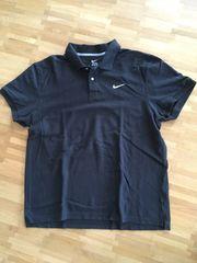 Nike Herren Poloshirt schwarz XXL