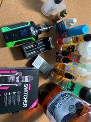 E-Zigarette Mit Liquid Zubehör E-Shisha