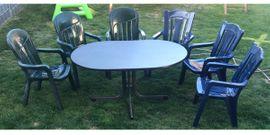 Gartenmöbel , Stühle , Tisch , Gartenset
