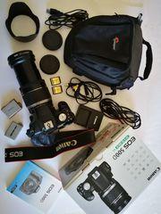 Canon EOS 500D EFS 18-200mm