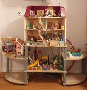 Sehr Große Playmobil Sammlung Puppenhäuser