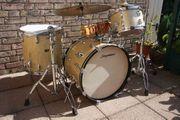 Slingerland Schlagzeug von 1964 Silver