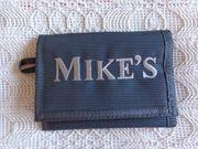 Portemonnaie Geldbörse mit Aufdruck Mike