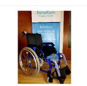 Neuware schicker Rollstuhl Faltrollstuhl Trommelbremse