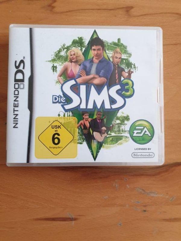 Nintendo DS Spiel Sims 3